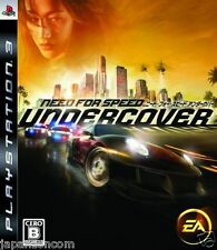 Used PS3 Need for Speed Undercover PLAYSTATION 3 SONY JAPAN JAPANESE IMPORT