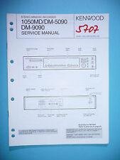 Instrucciones Manual de servicio para Kenwood dm-5090/dm-9090/1050md, original