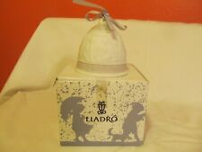 Vintage Lladro 1995 Christmas Bell Ornament Hand Painted Spain~Retired~Low Ship