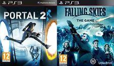 Portal 2 Usado & Falling Skies Nuevo y Sellado PS3 PAL