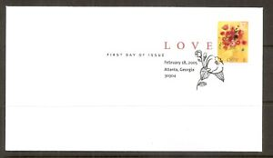US SC # 3898 LOVE FDC. Digital Cancel. Ready For Cachet.