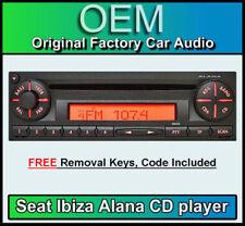 Ibiza von SEAT Autoradios