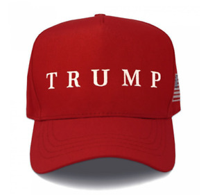 Official Trump Red Hat (Made in USA)