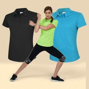 Ladies Activewear Ultra Cool Polo shirt by Uneek UC126 - Breathable Quick Dry