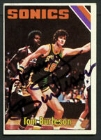 Tom Burleson #24 signed autograph auto 1975-76 Topps Basketball Trading Card