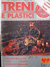 Treni e Plastici n°10 1979 Loco E 626 - Locomotiva Diesel 245 - Plastico inverno