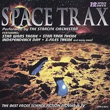 Space Trax CD Starlite Orchestra w DARTH VADER/YODA Star Wars Foil Stamps NEW