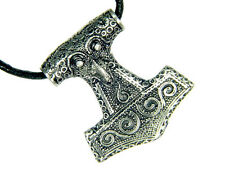 BUTW Raven Thor hammer necklace Norse Mjollnir talisman viking wicca goth  3303D