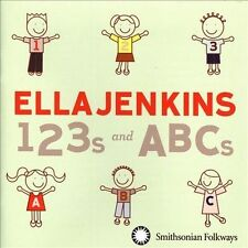 123s and ABCs by Ella Jenkins (CD, Jan-2014, Smithsonian Folkways Recordings)
