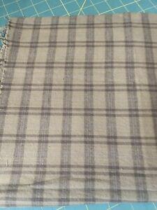 "33"" Brushed Cotton Homespun QUILT Fabric Plaid  (165)"