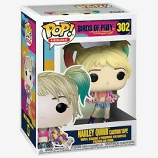 Harley Quinn Caution Tape Birds of Prey FUNKO POP FIGURE  UK SELLER NEW