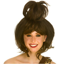 Brown Cave Woman Wig Ladies Ancient Fancy Dress Accessory
