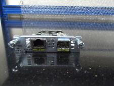 CISCO EHWIC-1GE-SFP-CU Copper & Pluggable High Speed WAN Card