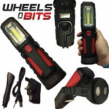 WheelsNBits Rechargeable 12V/240V Cordless Inspection Lamp Super Bright COB LEDs