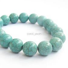 New Fashion Blue Howlite Turquoise Tibet Buddhist Prayer Beads Mala Bracelet