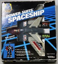 Go Bots Power Suits Spaceship Renegade Tonka 1985 In Box