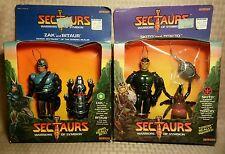 Vintage 1984 Coleco Sectaurs Warriors - Skito & Toxcid + Zak & Bitaur