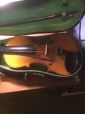 Hsinghai Skylark Peoples Republic Of China Violin Fiddle Vintage Case Bow