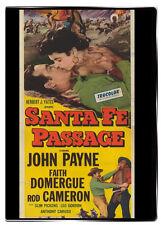 Santa Fe Passage 1955 John Payne, Rod Cameron, Slim Pickens, Faith Domergue