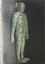 Jade Burial Suit with Gold Threads    Han Dynasty   Chrome Postcard 12218