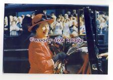 pq0091 - Queen Elizabeth at Bridgwater Somerset 1987 - postcard