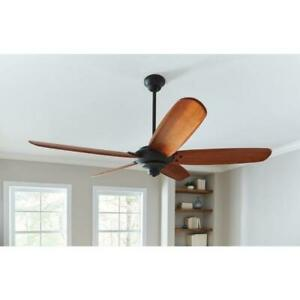 Altura Indoor Oil Rubbed Bronze Ceiling Fan 68 in. 1 BLADE ONLY Home Decorators