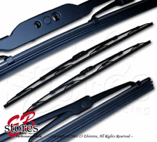 """1 Pair 2pc OEM Replacement Pin Arm Wiper Blade 22"""" Driver & 22"""" Passenger Side"""