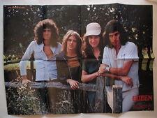 Queen Freddie Mercury Roger Taylor John Decon Brian May POSTER Japan