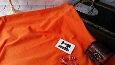 50cm ORANGE Plain Solid cotton lycra fabric 4 way stretch knit fabric 185cm wide