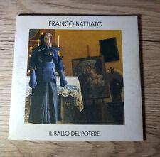 """Franco Battiato """" Il Ballo Del Potere """" 1998  CD, Single, Promo"""