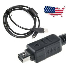 New USB DC Battery Charger Data SYNC Cable For Olympus Stylus TG-830 iHS Camera