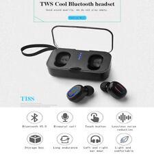 Auriculares Bluetooth 5.0 MINI TI8S TWS Inalambricos con caja de carga cascos