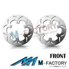 Front Brake Disc Rotor x2 Fit YAMAHA V-MAX 1200 86-92 86 87 88 89 90 91 92