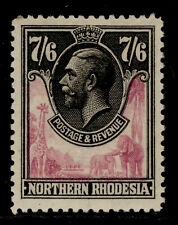 NORTHERN RHODESIA GV SG15, 7s 6d rose-purple and black, M MINT. Cat £190.