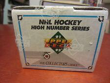 1991-92 Upperdeck hockey high series