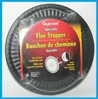 IMPERIAL BM0026 FLUE STOPPER FLUE HOLE COVER ADJUSTABLE 4'-8' METAL MATTE BLACK