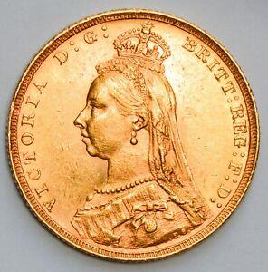 NICE 1888 (London Mint) Queen Victoria Jubilee Head Gold Sovereign