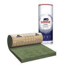 8 rouleaux laine de verre URSA PRK 32 TERRA revêtu kraft - Ep. 101mm - 51,84m²