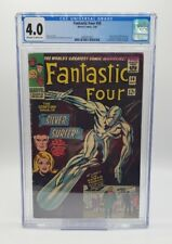 Fantastic Four #50 CGC 4.0 Classic Silver Surfer Cover Kirby Marvel (1968)