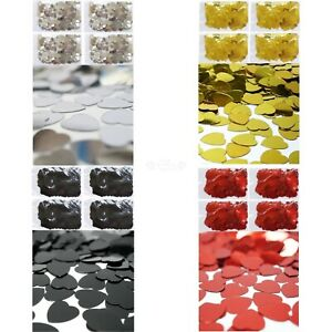 Wedding Table Scatters 100 Grams Decorations Confetti Heart
