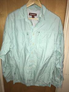 simms fishing shirt M
