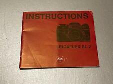 LeicaFlex SL 2  instructions