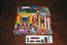 eMachines T5246 WinFast MCP61SM2MA motherboard with cpu, ram and I/O plate