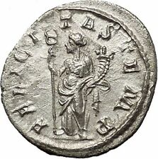 PHILIP I 'the Arab' 246AD Silver Ancient Roman Coin Good luck Commence i53954