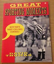 GREAT SPORTING MOMENTS David Thomas Book (Paperback)
