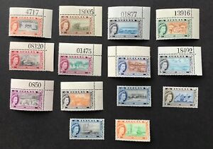 Bahamas 1954 Mint Stamps SG201 to SG214