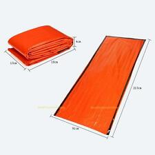 213 * 91cm Foil Thermal Space First Aid Emergency Survival Sleeping Bag Blanket
