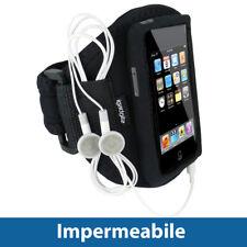 Nero Fascia Braccio per Apple iPod Touch 1G 2G 3G 4G Armband Sport Corsa Fitness
