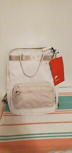 New Nike Tanjun Laptop Backpack -- Phantom (Light Tan)