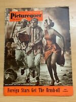 29 NOV 1952 PICTUREGOER UK MOVIE MAGAZINE - BOB HOPE & BING CROSBY FRONT COVER